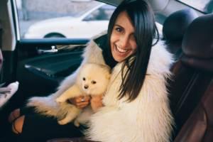 Джамала со своей любимой собакой