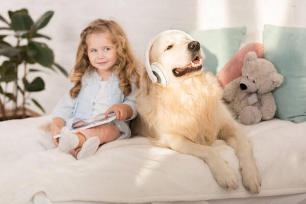 Идеальная порода собак для детей